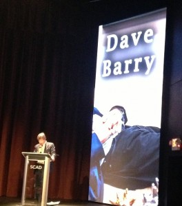 Pulitzer Prize winning journalist Dave Barry read from his latest book.