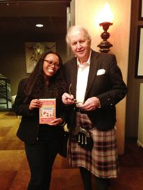 Self-proclaimed serial novelist, Alexander McCall Smith read from his latest book at SCADShow.